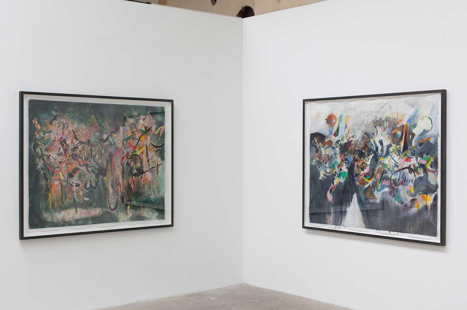 You are here, Arbeiten aus der Sammlung Peters-Messer, Werkschauhalle, Baumwollspinnerei Leipzig, 2019